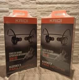 Fone De Ouvido Bluetooth Sports Kaidi Kd903