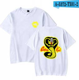 Camiseta Cobra Kai (Branca)