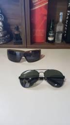 Óculos rayban e HotButtered