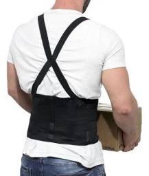 Protetor de Coluna Modelo Cinta Correção Postura Anti Dor para Trabalhador