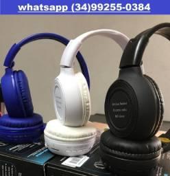 Fone Ouvido Mp3 Player Carta?o Sd Fm Headfone Bluetooth
