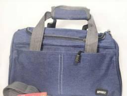 Bolsa de poliéster para viagem tamanho 40 cm x 22 cm x 23 cm