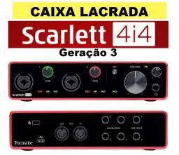 Scarlett 4i4 Geração 3 Interface De Áudio Usb - Focusrite