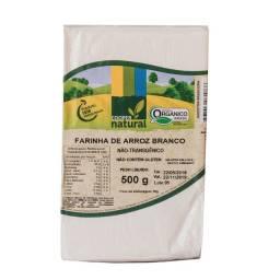 Farinha de Arroz Branco 500g  Sem Glúten Orgânico