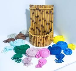 Prop de Bambu artesanal feito exclusivamente para newborn