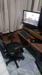Monitor LG * fonte 500w e 2memória ram de 4gb