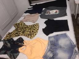 Lote de roupas TAM p !!!