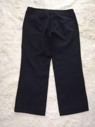 Calça preta de Alfaiataria 44