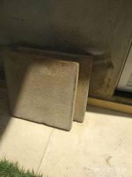 8 Placas de concreto, medidas 50x50x5