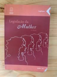 Legislação da mulher - livro