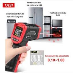 Termômetro infravermelho - Medidor Temperatura baixa e alta