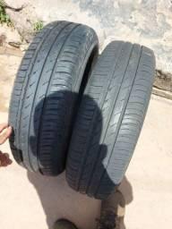 Pnue 165/70 R14 Continental R$ 450,00 nos 2 pneus