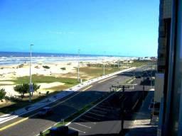 Frente calçadão linda vista praia e mar , Apto, 02 dorms com 02 box