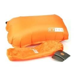 Travesseiro auto inflável Azteq(Nunca foi usado)
