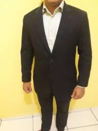 Vendo terno slim completo preto