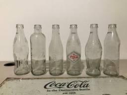 Coleção Garrafas Coca Cola