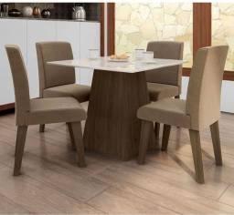 Mesa de jantar 4 cadeiras entrego e monto mesa de jantar