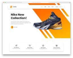 Tenha a sua loja virtual de calçados hoje nike