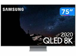 Smart TV 8K QLED 75? Samsung 75Q800TA - Wi-Fi Bluetooth HDR 4 HDMI 2 USB<br><br>