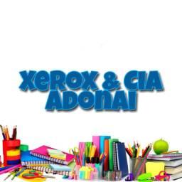 Xerox e Cia Adonai! Tudo por um preço acessível para caber no seu bolso.