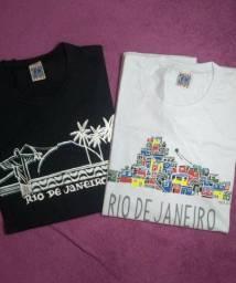 Kit Camisetas masculinas algodão
