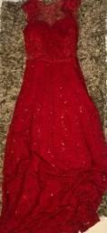 Vestido Madrinha de Casamento Tamanho P veste 36 Usado.