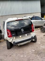 VEÍCULO PARA VENDA DE PEÇAS: Volkswagen UP TSI  2016