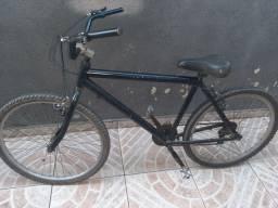 Vendo bicicleta de aluminio porem esta pintada