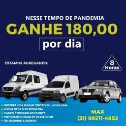 Agregamos van, fiorino, carro popular