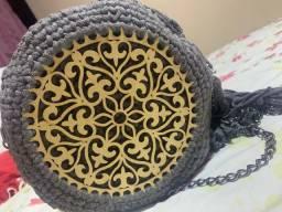 Vendo bolsa de fio de malha