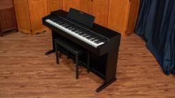 LOJA! Piano Digital Casio AP-270 Celviano Preto