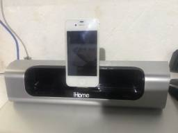 IPhone 4 + Ihome/ Ihome parou-se funcionar