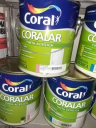 Oferta tinta 3,6 Coral na Cuiabá tintas  - para retirar na loja.