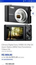 Câmera fotográfica Sony Cyber Shot DSC W800