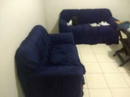 Vendendo estrutura de sofá dois e três lugares