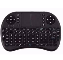 Mini Teclado Touchpad Sem Fio Usb Para Tv Box