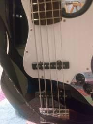 Baixo fender squier afinitty jazz bass 5 cordas