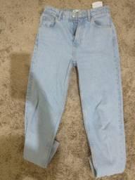 Calça mom jeans Zara