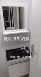 Promoção Armário de Banheiro com Pia e Espelho