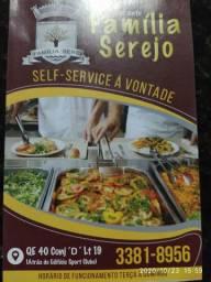 Serviço cozinheira