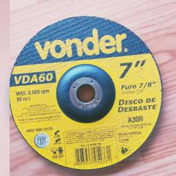 Disco de desbaste 180 mm x 6,4 mm x 22,23 mm VDA-60 Vonder