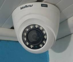 Camera intelbras done interna cftv fullHD