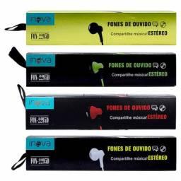 Fone de Ouvido Intra-Auricular com Microfone Inova - FON-2295D