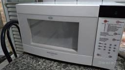 Microondas Brastemp clean grill