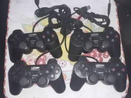 Controle usb, para PC ou retrô game