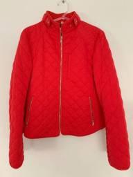 Jaqueta vermelha zara