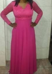 Vestido Rosa Pink Festas ,Casamentos e Eventos