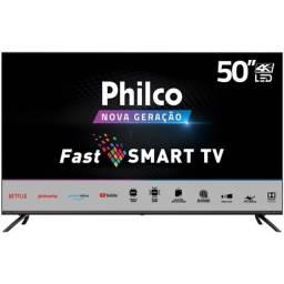 Smart TV Philco 50 Ultra HD 4K Tela Infinita - Um mês de uso - Leia Anuncio