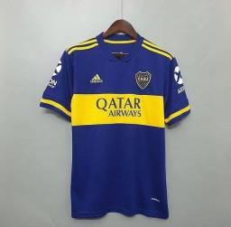 Camisa Tailandesa 20/21 Boca Jrs, Liverpool e Barcelona