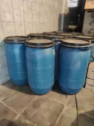 Bombona azeitona 60 litros com cinto para fechar